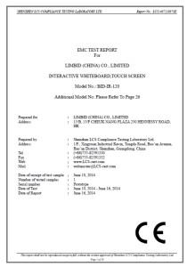 Certificazione conformità dei materiali