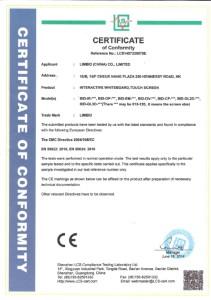 Certificate Limbid